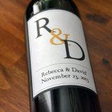 L'abitudine di alta qualità ha stampato i contrassegni del vino