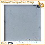 Quarzo bianco, lastre bianche centrali del quarzo/controsoffitti/parti superiori/piani d'appoggio/Kitchen&Bathroom (YY-MS197)
