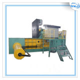 L'aluminium Ferraille hydraulique automatique peut la ramasseuse-presse