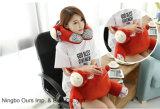 Venta caliente Cartoon creativa forma de U cuello y cintura almohada proveedor chino