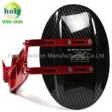 Kundenspezifische Präzisions-Aluminiummotorrad Schutzvorrichtung/Mudapron mit maschinell bearbeitenservice