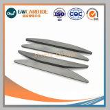 De Stroken van het Carbide van het wolfram met de Hoge Weerstand van de Slijtage voor het Dragen van het Gebruik van het Deel