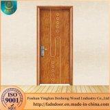 Nouveau design en acier Desheng porte en bois pour salle de bains