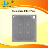 Piatto durevole della filtropressa della membrana
