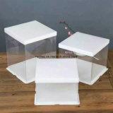 Envase de alimento plástico plástico del envase de alimento de la categoría alimenticia para la fabricación de cajas de la torta/de la rotura