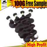 Body Weaving OF Indian humanly Hair Weft