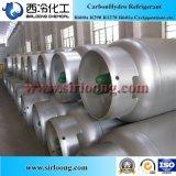 Pureza de gases leves 99,9% o isobutano R600um refrigerante para venda