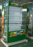 Refrigerador aberto da alta qualidade para o supermercado
