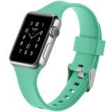 Nueva venda de reloj multi del silicón de los colores de la llegada 38m m con la hebilla para la serie de venda de reloj de Apple 1 2 3