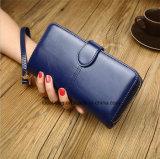 Détenteur de Carte de mode Wallet cuir synthétique Zipper sac à main pour Femmes