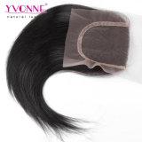 Yvonne Virgin 레이스 마감 자연적인 똑바른 브라질 인간적인 도매 머리