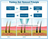 Машина удаления волос лазера 808nm США профессионала медицинская фильтруя