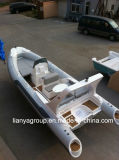 Liya 6.6mの(a)贅沢な肋骨のボートのガラス繊維の膨脹可能なボート