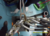 Быстрая скорость нагрева индукционного высокотемпературной пайки сварочный аппарат с гибкий кабель 1.5-10m