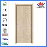 Panel Composite Prehung con textura de la puerta de melamina