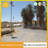 Sistema de iluminação solar da potência solar de luzes de rua do diodo emissor de luz da economia de energia ao ar livre
