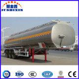 Jsxtの新型20-60cbm 3の車軸アルミ合金のガソリンまたはガソリンまたはオイルまたは燃料のタンカー