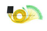 2X32 de aBS-Doos van de vezel Optische PLC Splitser
