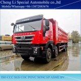 Autocarro con cassone ribaltabile di uso 8X4 di estrazione mineraria dell'Iveco 430HP da vendere