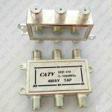 4方法ケーブルの蛇口のディバイダーのデジタル信号CATVの4方法5-1000MHz