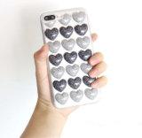Blingの3D愛中心パターンが付いているかわいい携帯電話の箱