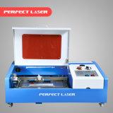 CO2 MiniGravierfräsmaschine des laser-Gummistampfer-40W