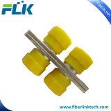 FC duplex Connecteur adaptateur fibre optique de métal