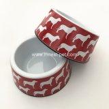 Китай меламина Пэт воды питание кормление чаши с Doggie напечатал альтернативные денежные знаки