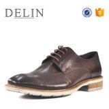 新しいデザイン人の革靴の偶然靴のこんにちは品質