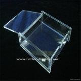 Caixa plástica do memorando do cubo acrílico feito sob encomenda do memorando