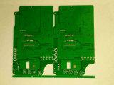 Doppelseitiges grünes Tinten-Pb des Schaltkarte-Vorstand-Fr4 geben frei