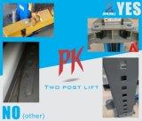 Alzamiento auto hidráulico del coche de 2 postes de la placa de suelo de Pofessional