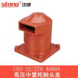 bucha Elevado-Média da resina da isolação da caixa do contato da tensão 4000A