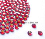 모조 다이아몬드 포일 뒤 모조 다이아몬드 (FB ss20 샴 ab)에 Ss20/5mm 샴 Ab 접착제