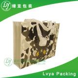 Sac d'emballage de achat stratifié par pp non tissé avec la taille faite sur commande