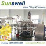 De plástico/garrafa PET/máquina de enchimento do depósito de óleo