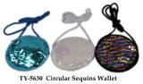 Neues heißes Quadrate Sequins-Schlüsselketten-Spielzeug