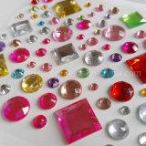 Оптовая торговля новые акриловые наклейки Rhinestone Crystal