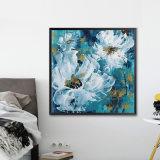 Le décor des chambres de l'huile d'art encadrées de peinture murale fleur gravures de toile