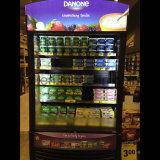 Exibição aberta Multideck Chiller para refrigeração de carne e produtos lácteos