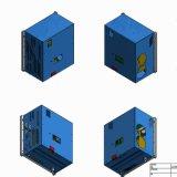 커뮤니케이션 종료 주거를 위한 용접 알루미늄 상자