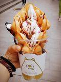 2+1混合された味のアイスクリームのソフトマシン