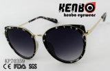 Cat Eye Lunettes de soleil avec Golden Rim PK70359