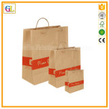 Мешок Kraft изготовленный на заказ пакета бумажный (OEM-GL011)