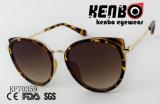Óculos de olho de gato com Golden Rim Kp70359