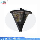 LED de puissance de sortie de lumière solaire de jardin 12W prix en Chine