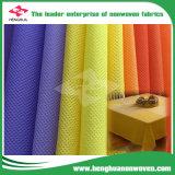 Caja fuerte sin olor acre no tejida con el PUNTO en el rodillo para la materia textil casera