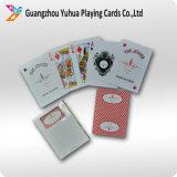 Tarjetas a todo color de encargo del póker de las tarjetas que juegan para el anuncio