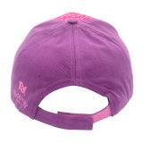 カスタム昇進のピンクの方法は刺繍された印刷されたロゴの赤ん坊の日曜日バイザーの急な回復の綿党帽子のスポーツの野球帽をからかう