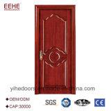 Конструкция двери панели горячего сбывания деревянная с MDF двери деревянного Veneer деревянным